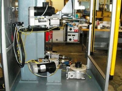 Custom Drill and Tap machine made for a special application