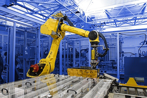 enhance lean manufacturing with robotics