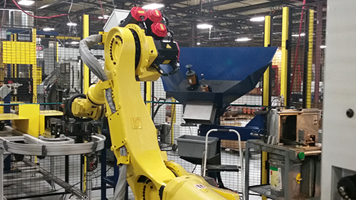 Robot Compliance Part Deburring