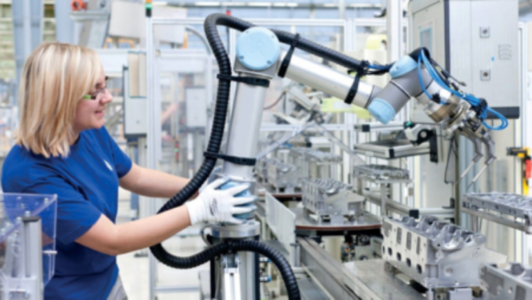 Know Your Machine: Cobots vs. Industrial Robots