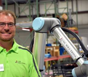 CNC Solutions Welcomes New Sales Engineer, Scott Thomas